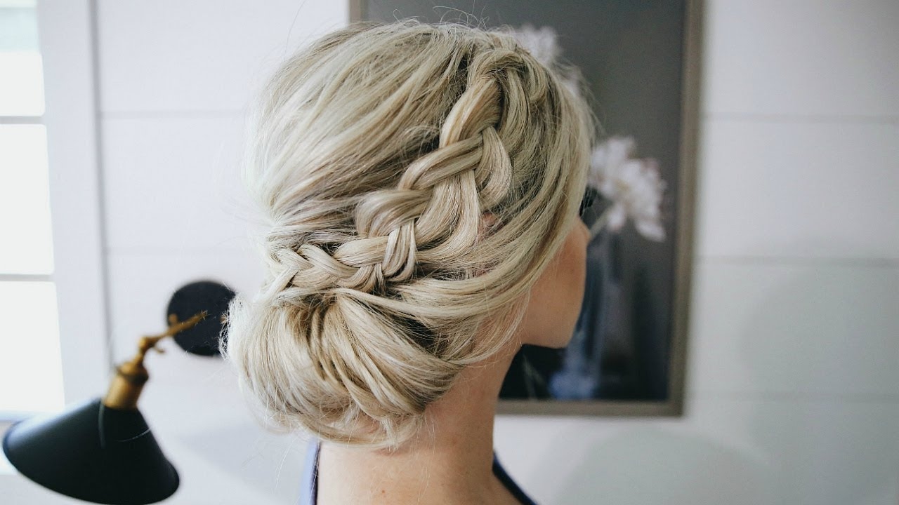 Braided Chignon Bun