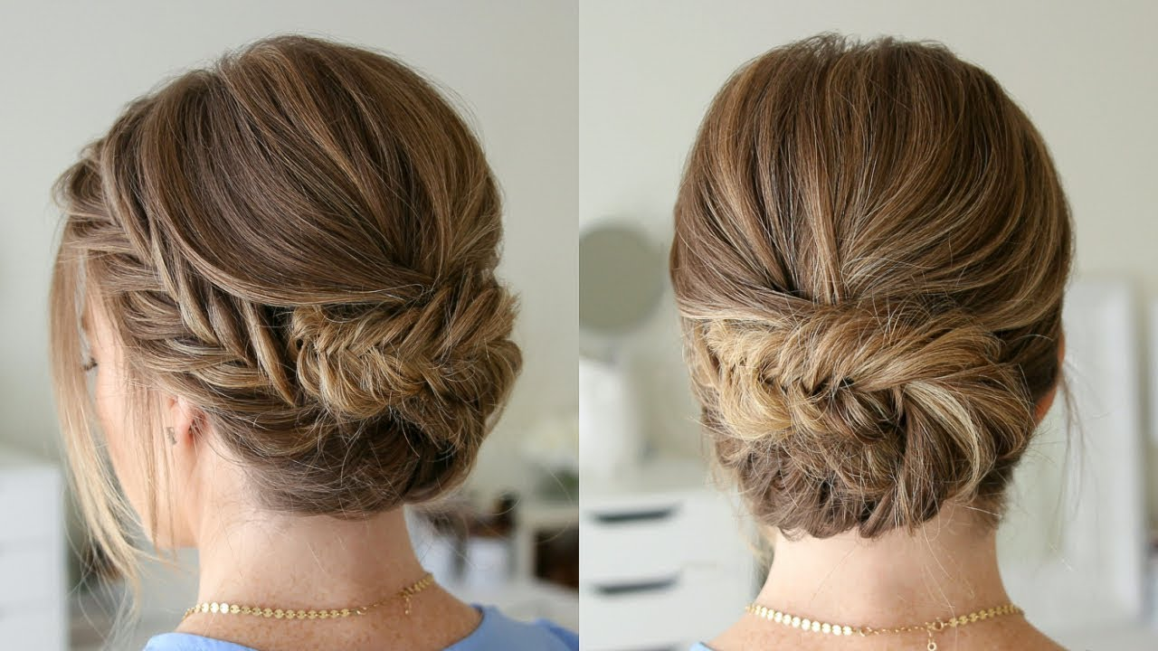 Tucked-up updo
